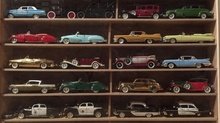 Wonderful collection of 30,000 cars, from tiny models to full size automobiles, donated to a ...