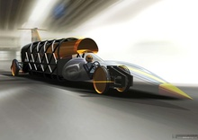 Bloodhound SSC is exactly what it says - a SuperSonic car designed to go faster ...