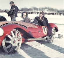 Ice racing in style!