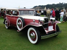 1930 Ruxton sedan. Ruxton will be one of the featured marques at the 2014 Pebble ...
