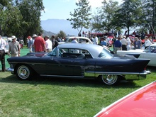 1958 Cadillac Eldorado Brougham. One of 304 built. Suicide doors, pillarless body, stainless steel roof ...