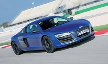 I haven't driven an R8 for a few years. This V10 Plus with the new ...