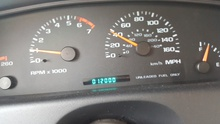 My 96 Impala SS just turned 12K miles. Yes, you read that right.