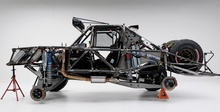 The skeleton of a baja Trophy Truck. Pretty rad.