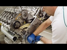 Incredible factory video of assembling the Bentley/VW W12 engine. Check out the cylinder configuration!