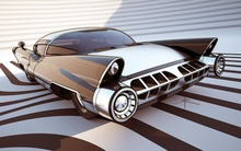 Crazy cool rendering of concept car, possibly Spohn-based.