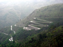 Located in the South of France, the Col De Turini is a famous mountain top ...