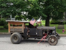 July 4th parade in Randolph, Vermont.