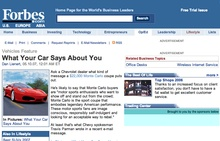 "What does your car say about you? Check out this article and the ""In Pictures"" ..."