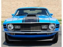 1970 Ford Mustang Mach 1 in Fredericksburg, Virginia. $54,900. And she's baby blue!