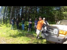 Warn Winch Training Session! - Oregon - July 8, 2012. Steve & Scott from Warn ...