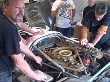 First time start Porsche 917 racing engine after 30 years in storage. What a sound!