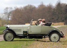 Downton Abbey AC roadster used in the third season.