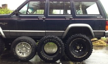 The evolution of my XJ tires