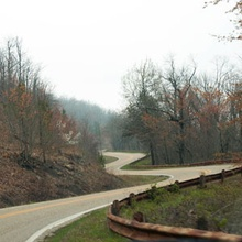 The Talimena Scenic Drive: Fall Leaves in the Ouachitas. Brilliant fall colors and mountain views ...