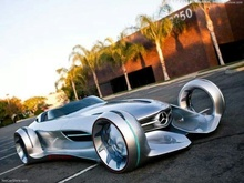 Mercedes Silver Arrow concept.