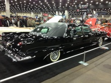 A factory authorized custom; the Crown Imperial limousine by Ghia. A total of 132 were ...