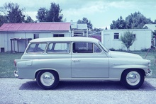1960 Skoda when purchased new.