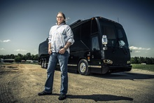 Jerry Fitzpatrick, 56, an entertainment bus operator from Benton, Ark., on driving Dave Matthews's tour ...