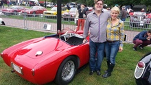 1954 Osca MT4 and Gary and Michelle Cove.