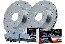 Upgrade the safety and looks on your ride with this brake kit from PowerStop. On ...