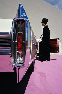 Circa 1965 Cadillac Coupe de Ville in this period photo by Gene Laurents for Vogue ...
