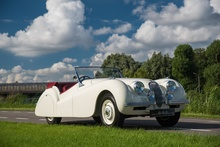 1951 JAGUAR XK120 DHC ABBOTT An important masterpiece of post war British coach building Mentioned ...