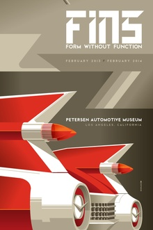 Petersen Automotive Museum 2014 exhibition poster.