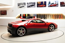 Eric Clapton's custom designed Ferrari. What do you guys think about this?