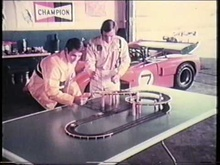 AFX Monte Carlo slot-cars: Peter Revson - TV commercial.