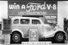 Win a Ford V-8