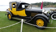 The spectacular 1927 Lincoln L Judkins Coaching Brougham.