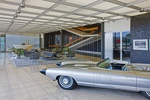A lobby of the General Motors Technical Center in Warren Michigan with the readied torpedoes ...