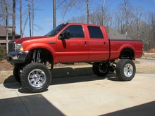 2001 Ford 350 CARFAX CERTIFIED 7.3 Diesel with 81,000 original miles. 15 inch lift Fab ...