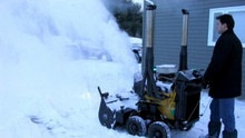 Now this is a snow blower!