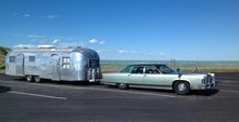 Nothing like the 1970s when trailing a motor home meant outfitting your Caddy or Lincoln ...