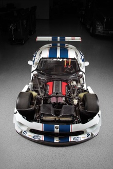 A topless pic of the 2013 SRT Viper GT3-R.