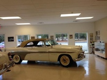 A car collector of 1950's vehicles, has graciously offered to have a showing of a ...