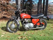 Here's a nice old Norton N15CS 750 that has been tucked away for decades. Matching ...