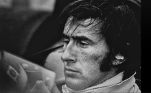 Oblivious to everything else surrounding him, two-time Formula 1 World Driving Champion, Jackie Stewart focuses ...