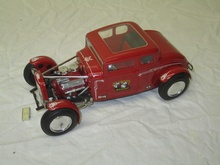 Early 1932 Ford model kit by Monogram.