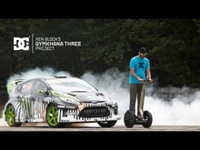 Ken Block's Gymkhana THREE. Ultimate Playground; l'Autodrome, France. Shot just south of Paris, France in ...