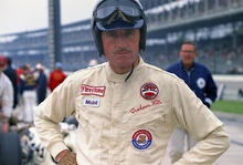 Graham Hill at Indy. Intense is an insufficient word.