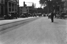 Another neat street scene somewhere in Vermont 1920s.