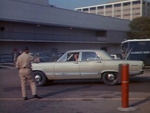 "1967 Ford Galaxie from the TV series ""Dragnet."""
