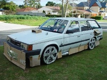 Ignore the author's bias against awesome car mods! Except the wood and cardboard body kits... ...