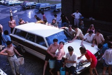 "A very special photo. Andover, MA East Junior High School ""car wash day"" June 1967. ..."