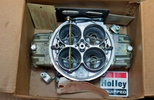 1150 CFM Holley Dominator Carb from a Boss 429 NASCAR engine. From 1970. Care of ...
