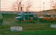 Screaming around corners on a crisp early November afternoon at Pennsylvania's Susquehanna Speedway is racing ...