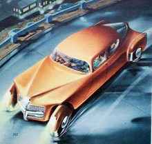 Preston Tucker styling concept. Even this was way ahead of its time.